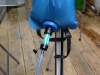 Mit Wassersäcken verwendet, kann man den Filter auch aufhängen.