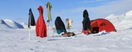 Lappland Morgensonne muss genutzt werden