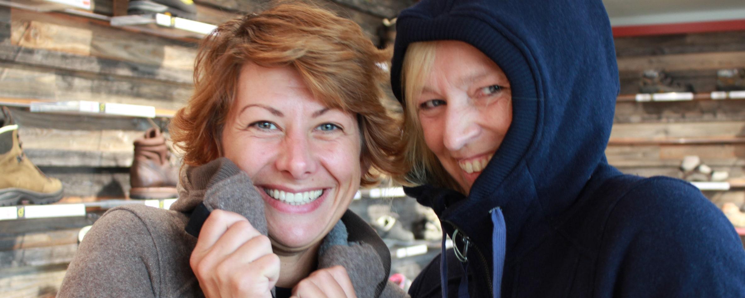 """Janice und Anke probieren die """"Neuen"""""""