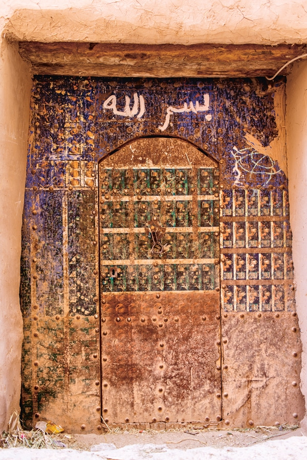 Trotz schöner Texte, einen Einblick in das echte Leben Marokkos bietet ein Katalog natürlich nicht.