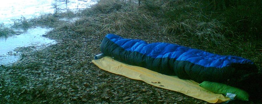 Wie wählt man den richtigen Schlafsack aus? Foto: Anja Discher