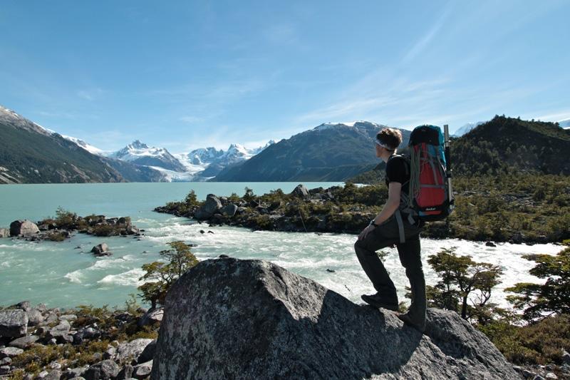 Blick auf den Gletschersee, endlich kann es los gehen!