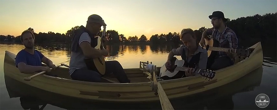 Canoe Concerts hier in Kopenhagen. Foto: Canoe Concerts