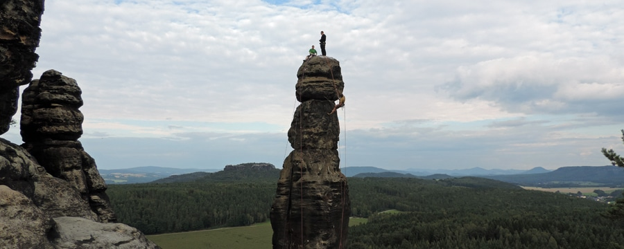 CAMP 4 Mitarbeiter Hans auf der Barbarine. Alle Bilder: privat