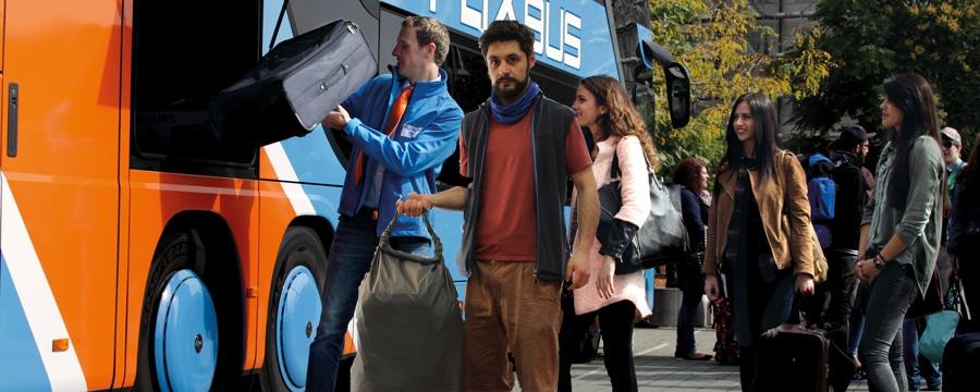 FlixBus-Service: Gepaeckmitnahme kostenlos