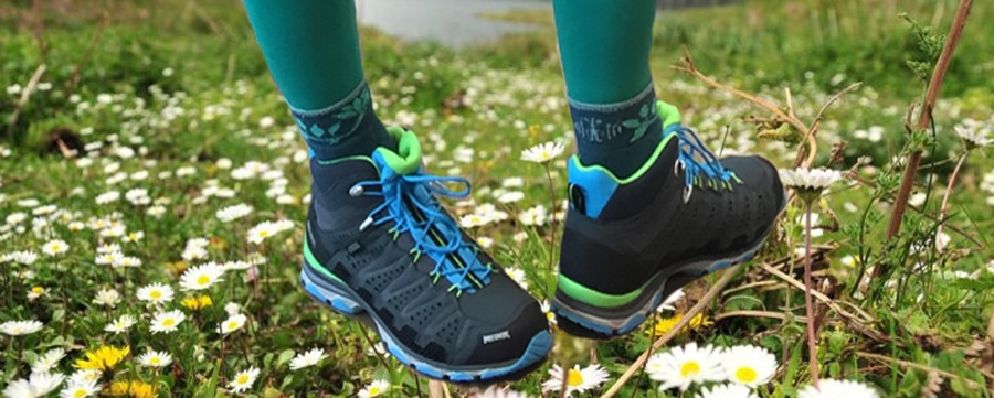 Neue Schuhe im CAMP4: Meindl X-SO MID GTX mit Surround Technologie