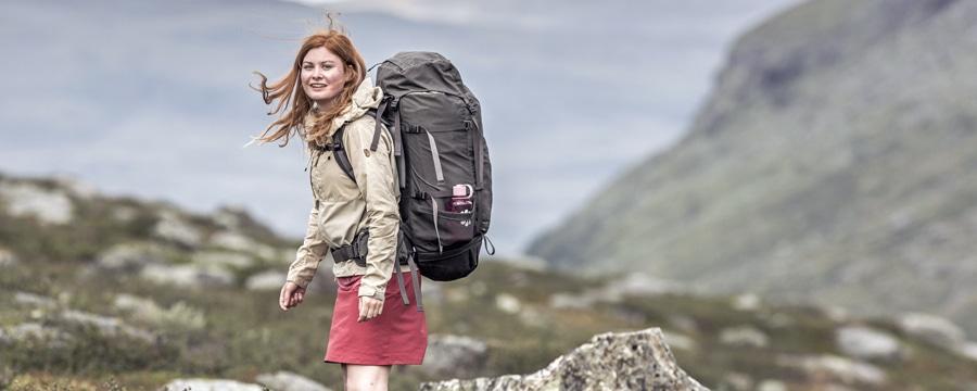 So schoen ist Trekking ... Foto: Fjaellraeven