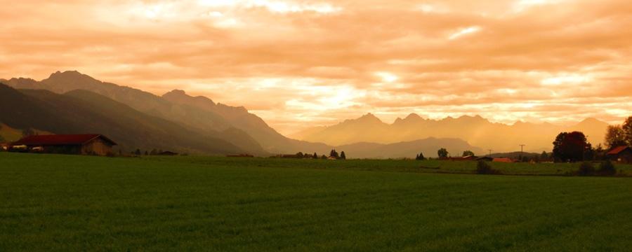 Fantastischer Blick mit Alpenpanorama. Alle Bilder: Marcus und Alex