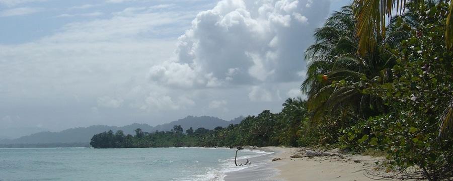 Sandstrand in Costa Rica.