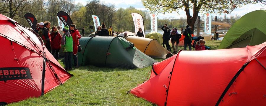 Orankecamp am 16. April 2016: Zelte zu unschlagbaren Aktionspreisen