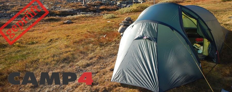 Testbericht: Helsport Fjellheimen Superlight 2 Camp
