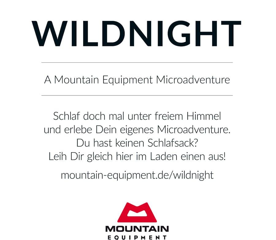 Draußen Schlafen Ohne Zelt Tipps : Wildnight schlafsäcke für euer abenteuer im juni bei camp