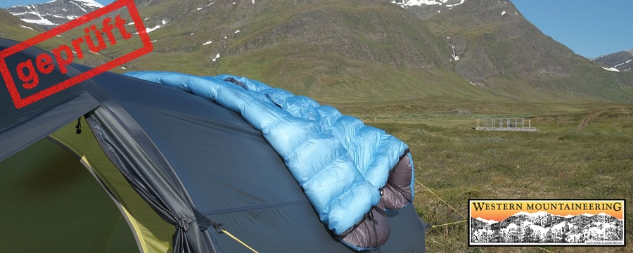 Testbericht: Western Mountaineering NanoLite Quilt
