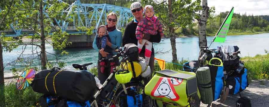 Panamericana – Fahrrad Familie Outdoor – Das Abenteuer ihres Lebens