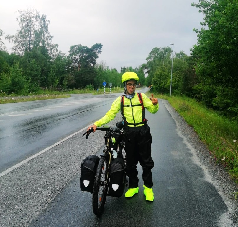 Einziger (!!) Regentag während 4 Wochen in Skandinavien