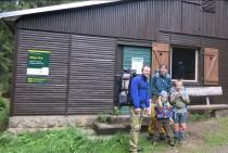 Der Forststeig lässt sich auch mit Kindern wandern! Bildquelle: Sachsenforst