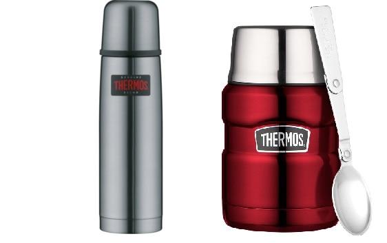 thermos flasche und speisebehaelter