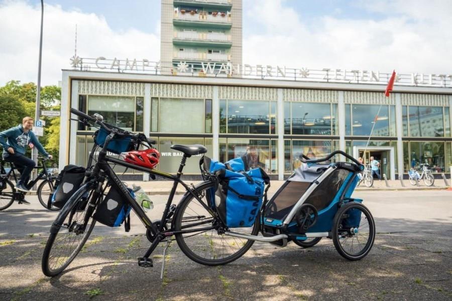 Guter Startpunkt für die Radtour: Das Camp4 in Berlin!