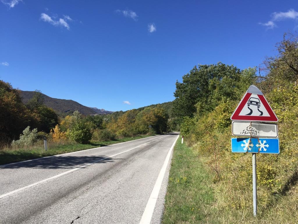 Strasse in Italien
