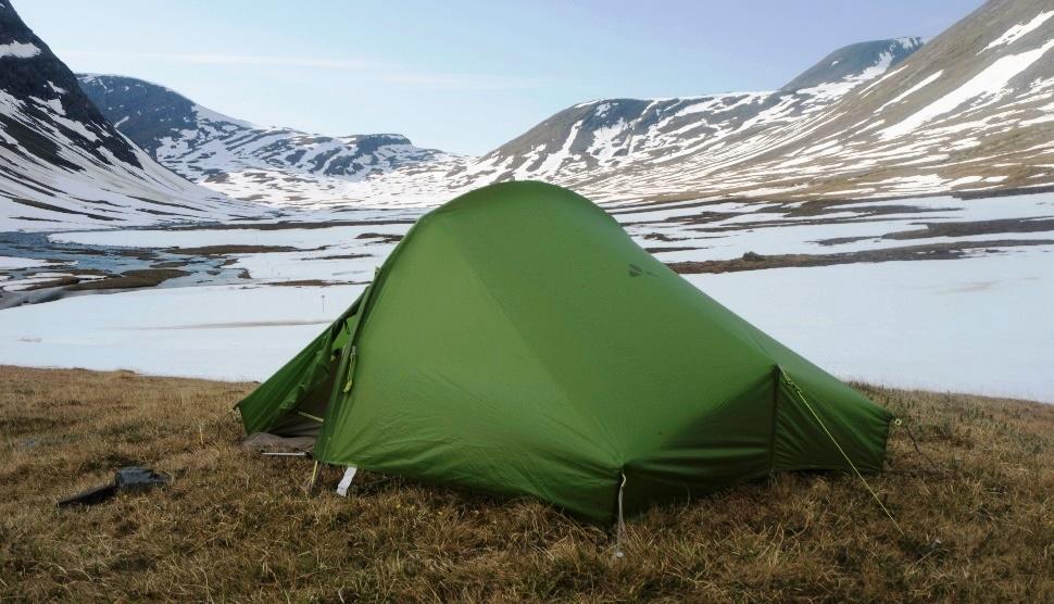 Sommer in Schweden – schneebedeckter Tjäktapass
