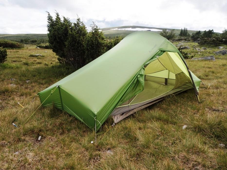 Das Zelt steht (fast) immer und überall mit wenigen Handgriffen perfekt